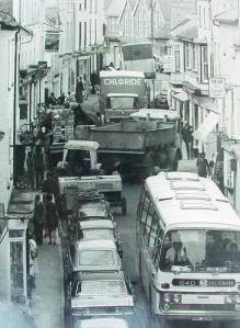 Kington pre-bypass (1970s)