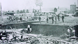 Construction of the Kington to Old Radnor Line (1850s)